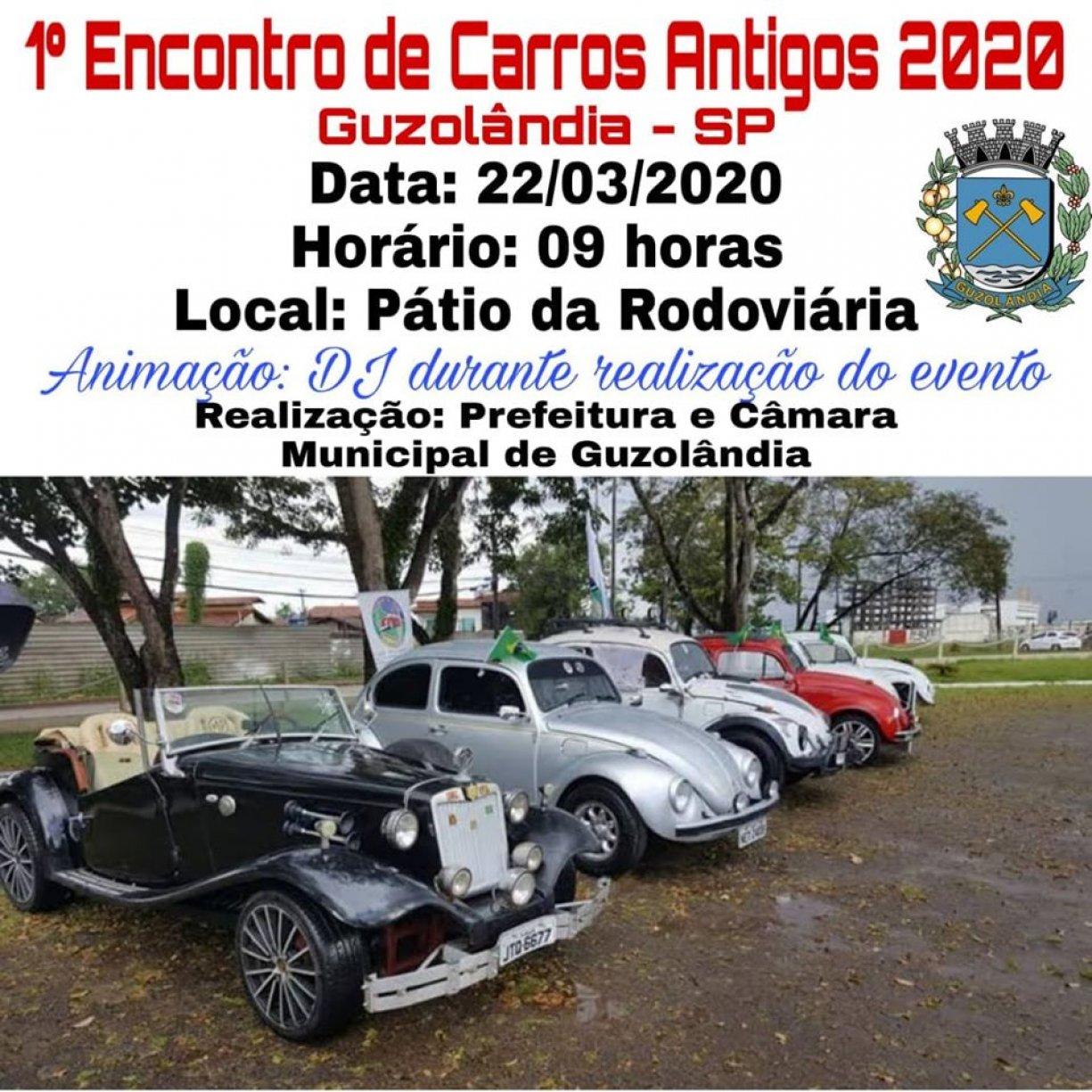 1º Encontro de Carros Antigos 2020