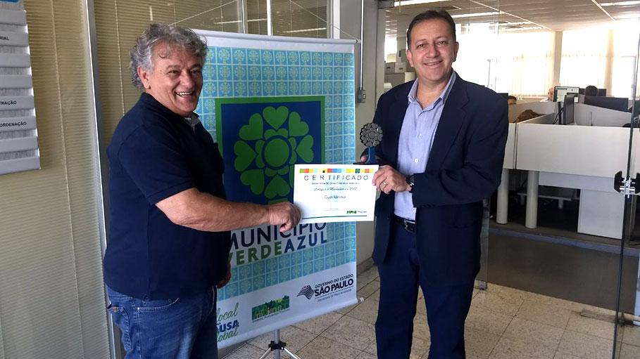 Guzolândia recebe o Selo Verde Azul