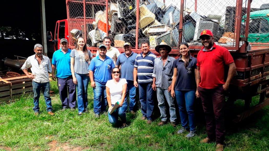 Ação intermunicipal arrecada 3.2 ton de lixo eletrônico na região Guzolândia participa de mutirão intermunicipal de lixo eletrônico