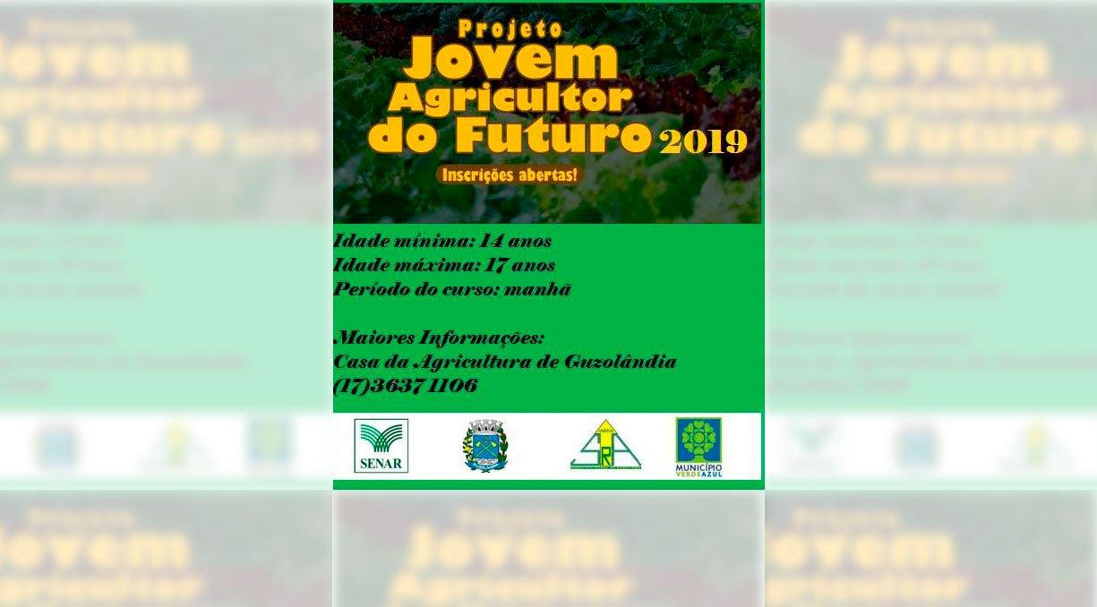 PROJETO JOVEM AGRICULTOR DO FUTURO 2019