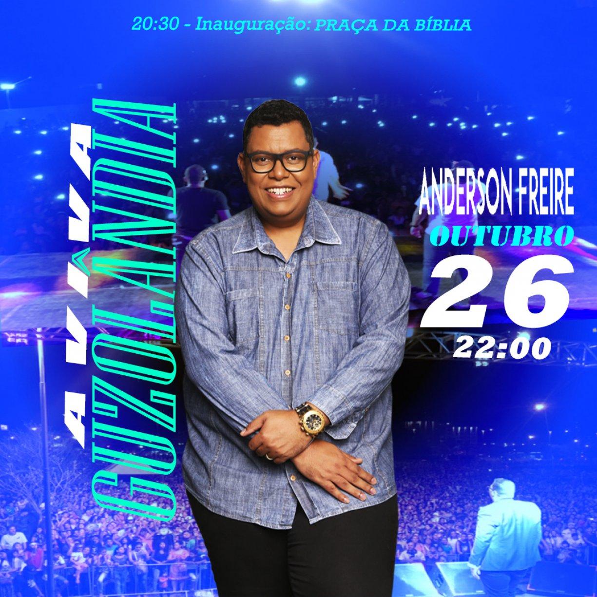 Aviva Guzolândia 2019 recebe Grande Referência do meio Gospel: Anderson Freire