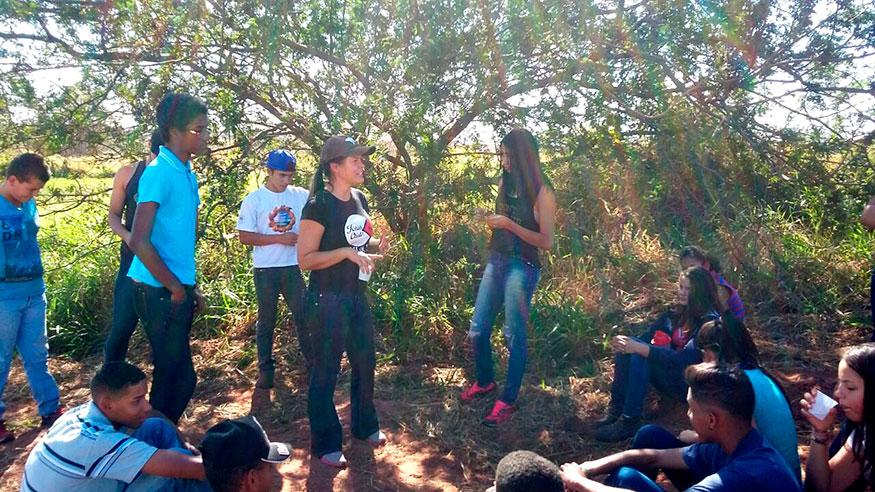 Guzolândia realiza capacitação sobre Biodiversidade com alunos do Programa Jovem Agricultor do Futuro.
