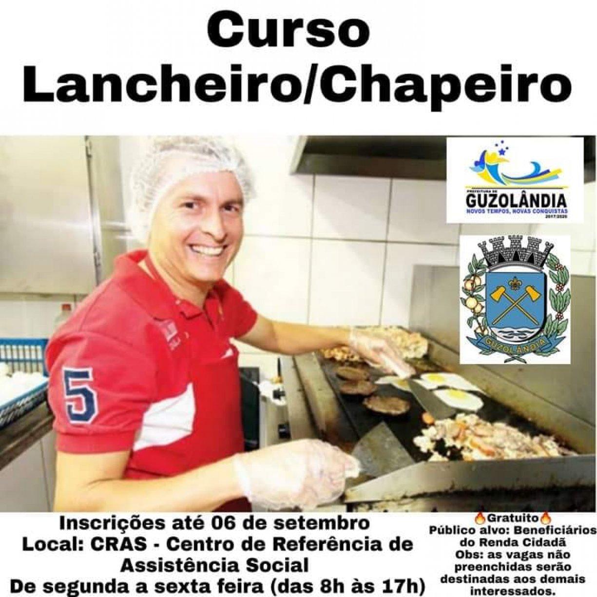 Curso de Lancheiro e Chapeiro