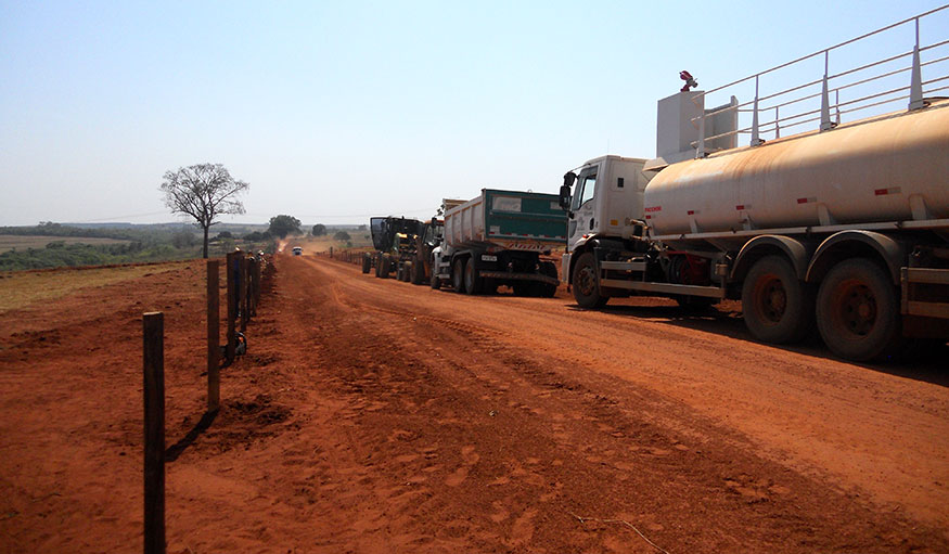 Prefeitura realiza adequação da Estrada Municipal das Cobras, GUZ 339.