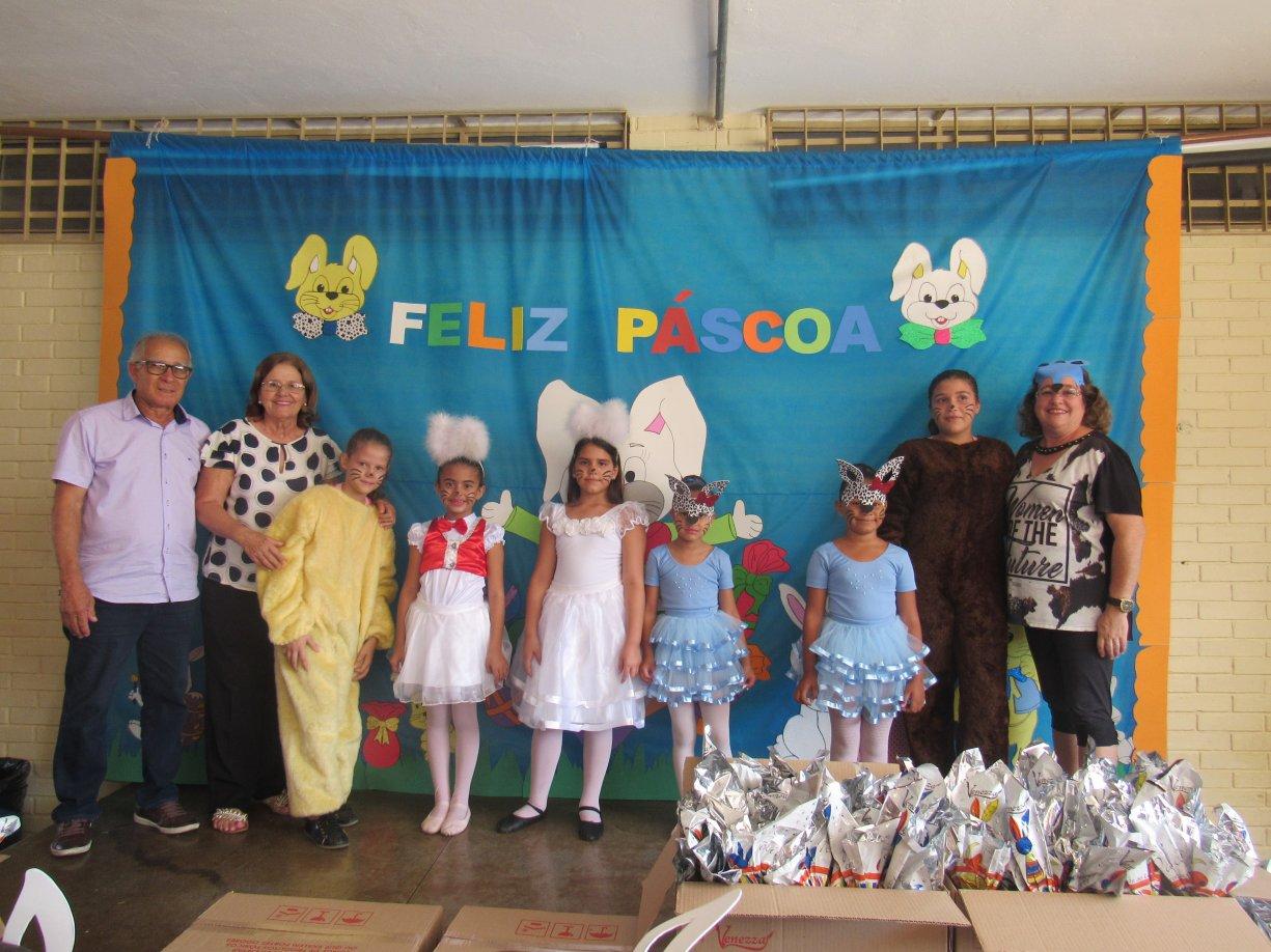 A Pascoa chegou mais cedo para os a Alunos de Guzolândia.